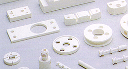 Machinable ceramics parts.
