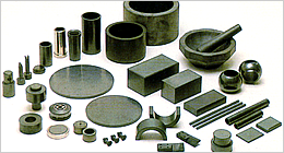 Silicon nitride SiC parts.